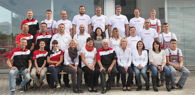 Honda Frauenschuh Salzburg Team